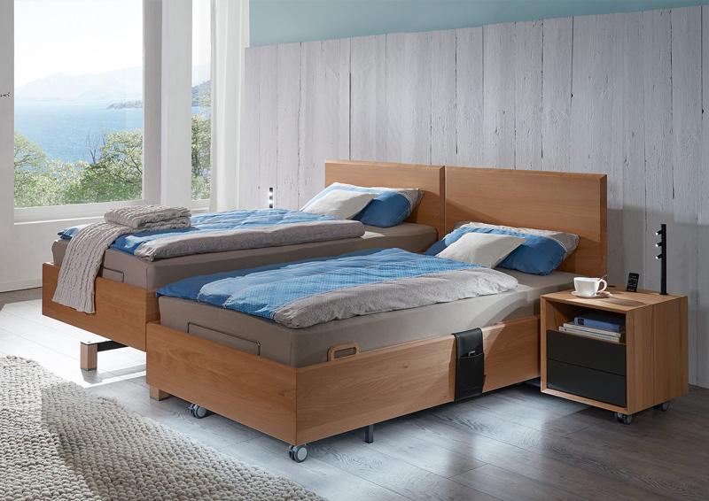 Betten mit Komforthöhe