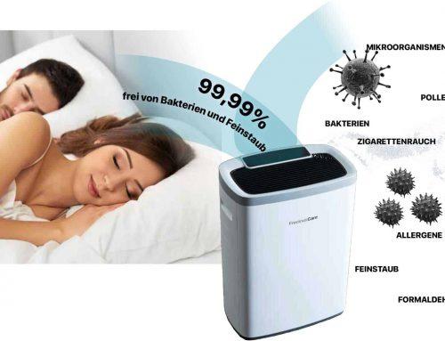 Gute Luft für einen gesunden Schlaf mit dem FreciousCare Luftreiniger