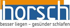 Horsch  besser liegen, gesünder schlafen – Haßloch, Landau, Grünstadt Logo